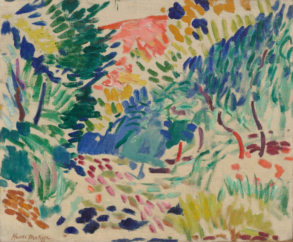 Henri Matisse's Landscape at Collioure.